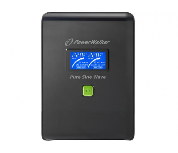 Power Walker VI 2000 PSW (2000VA/1400W, 6xIEC, USB, LCD, AVR) - 176715 - zdjęcie 3