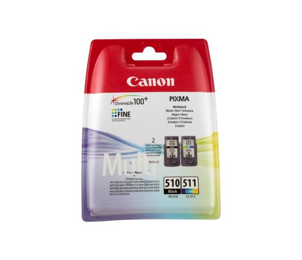 Canon Zestaw 2 tuszów PG-510 + CL-511  - 178087 - zdjęcie