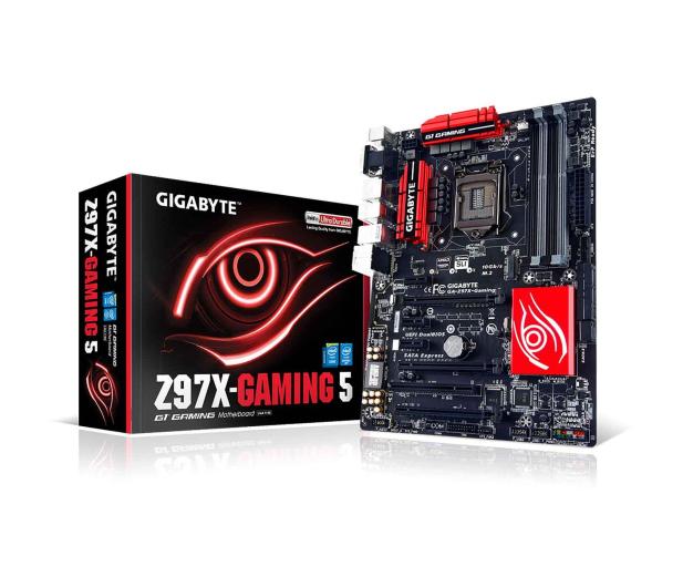 Gigabyte GA-Z97X-GAMING 5 (Z97 3xPCI-E DDR3) - 186091 - zdjęcie