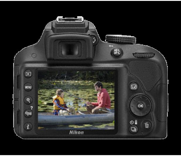 Nikon D3300 czarny +AF-S VR DX 18-105  - 180686 - zdjęcie 4