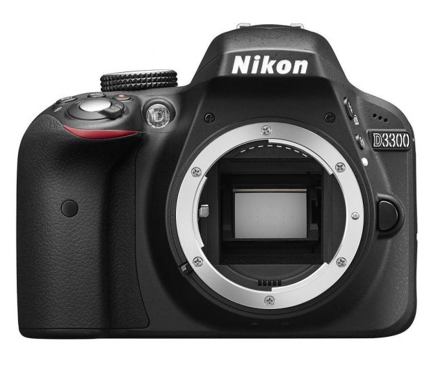 Nikon D3300 czarny +AF-S VR DX 18-105  - 180686 - zdjęcie 2
