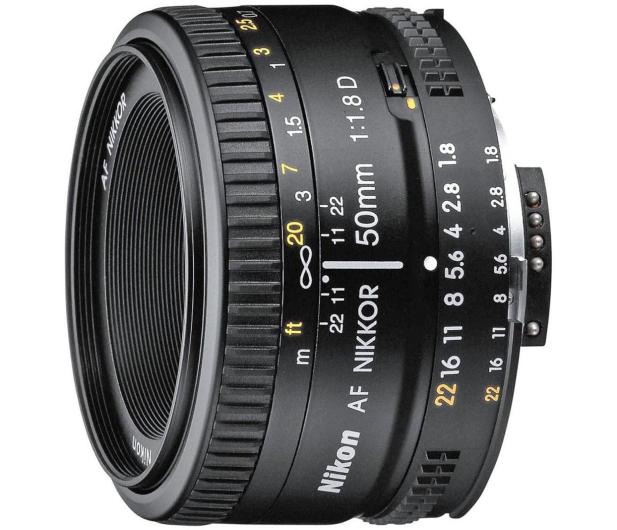 Nikon Nikkor AF 50mm f/1.8D  - 188491 - zdjęcie