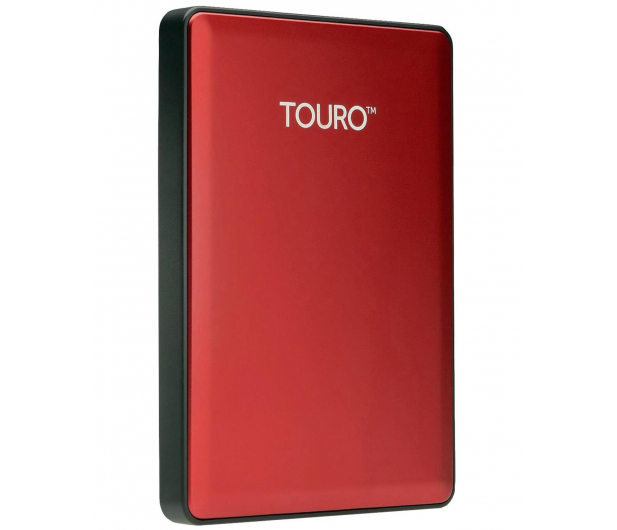 Hitachi 500GB 7200obr. USB 2,5'' czerwony USB 3.0 Touro S - 182284 - zdjęcie