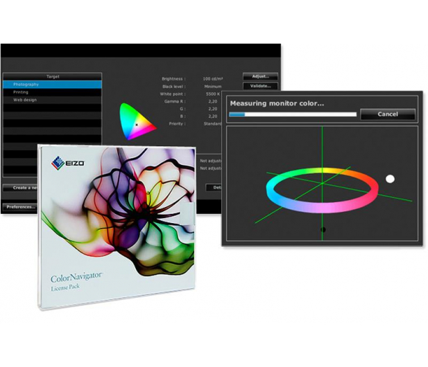 Eizo CS2420-BK  + CN + Datacolor Spyder5Express  - 310665 - zdjęcie 2