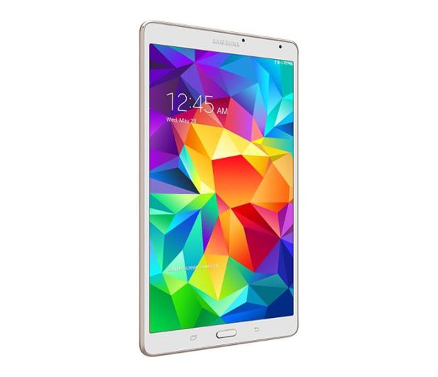 Samsung Galaxy Tab S 8.4 AMOLED T705 QC/16GB LTE biały - 190148 - zdjęcie