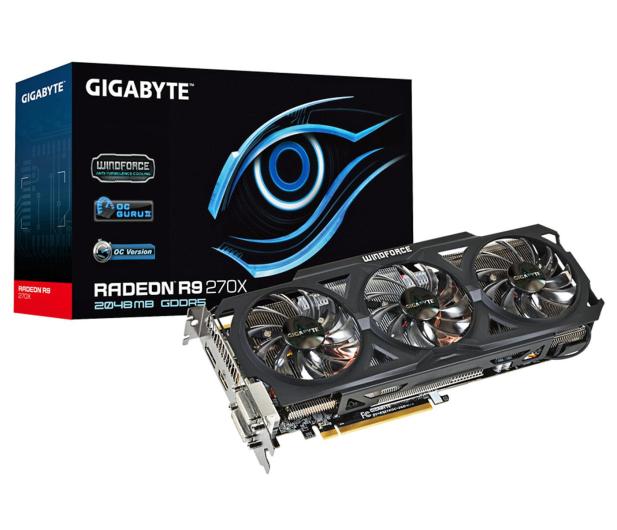 Gigabyte Radeon R9 270X 2048MB 256bit WindForce 3X OC - 160597 - zdjęcie 5