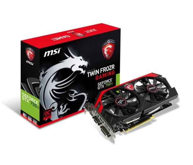 MSI GeForce GTX750Ti 2048MB 128bit Twin Frozr OC - 174903 - zdjęcie