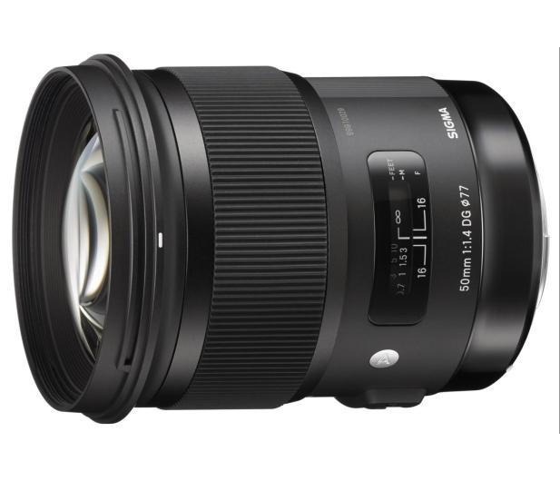 Sigma A 50mm f1.4 Art DG HSM Nikon - 231560 - zdjęcie