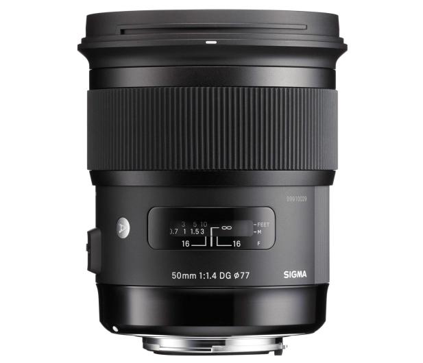Sigma A 50mm f1.4 Art DG HSM Nikon - 231560 - zdjęcie 2