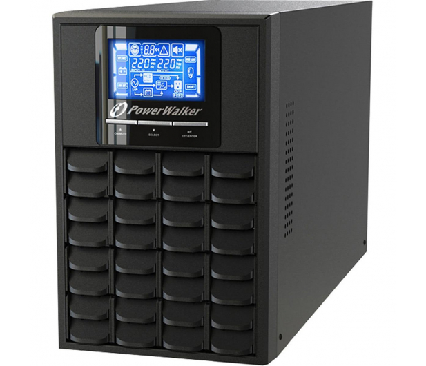 Power Walker VFI 2000 LCD (2000VA/1600W, 8xIEC, USB, LCD, AVR) - 178306 - zdjęcie