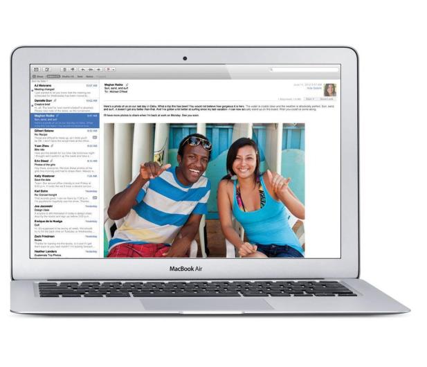 Apple MacBook Air i5-5250U/4GB/128GB/HD 6000/Mac OS - 229526 - zdjęcie
