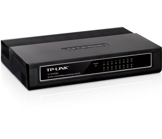 TP-Link 16p TL-SF1016D (16x10/100Mbit) - 26797 - zdjęcie 3