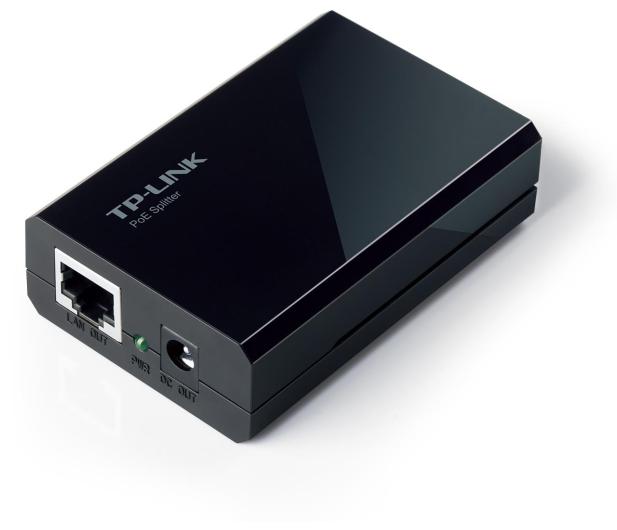 TP-Link Splitter PoE 1Gbit (PoE -> LAN+DC) odbiornik - 200606 - zdjęcie 2