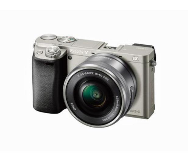 Sony ILCE A6000 + 16-50mm srebrny - 189760 - zdjęcie