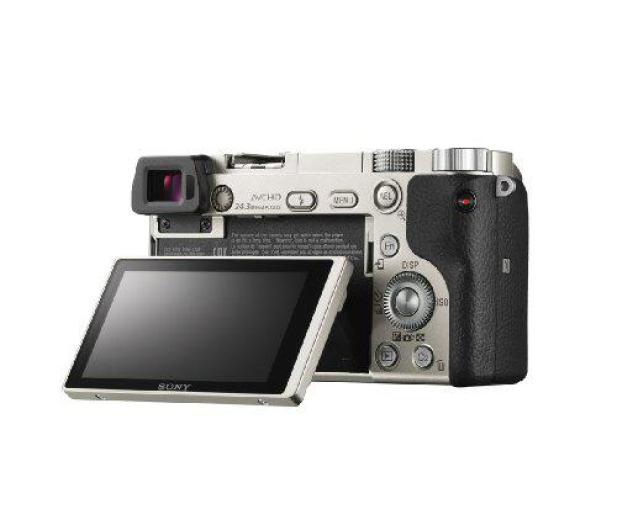 Sony ILCE A6000 + 16-50mm srebrny - 189760 - zdjęcie 6