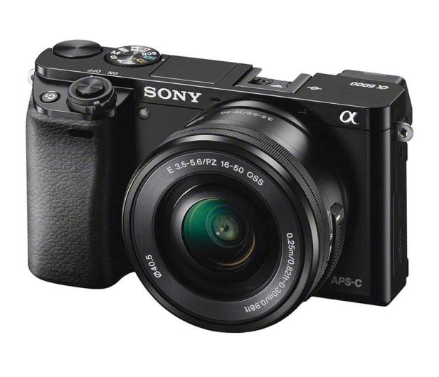 Sony ILCE A6000 + 16-50mm czarny - 189759 - zdjęcie