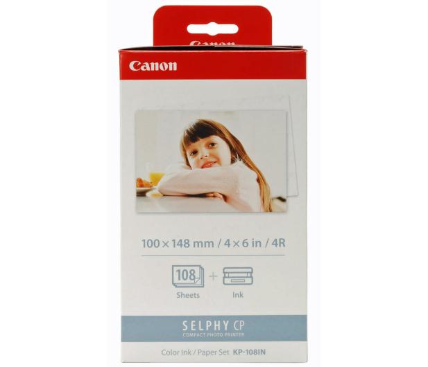 Canon KP-108IN -108 szt 10x15cm (papier+folia barwiąca)  - 203138 - zdjęcie