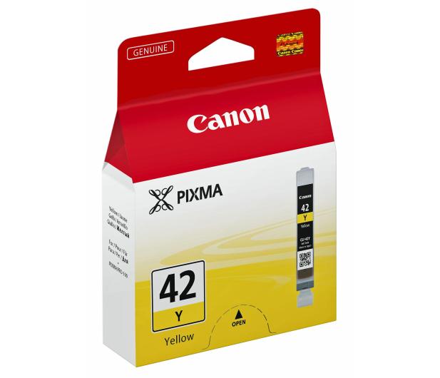 Canon CLI-42Y yellow (do 284 zdjęć) - 203207 - zdjęcie