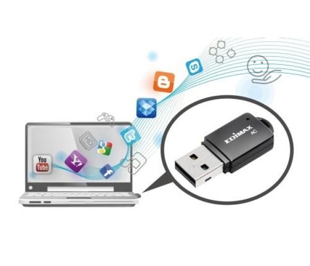 Edimax EW-7811UTC (802.11a/b/g/n/ac 450Mb/s) DualBand - 204393 - zdjęcie 4
