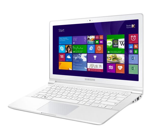 Samsung ATIV Book 9 Lite Quad Core/4GB/128SSD/Win8 biały - 152810 - zdjęcie