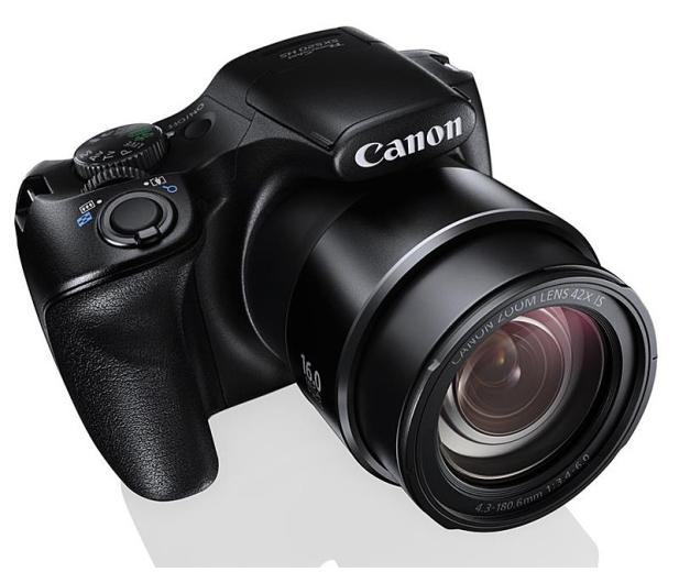 Canon PowerShot SX520 HS Czarny   - 204380 - zdjęcie