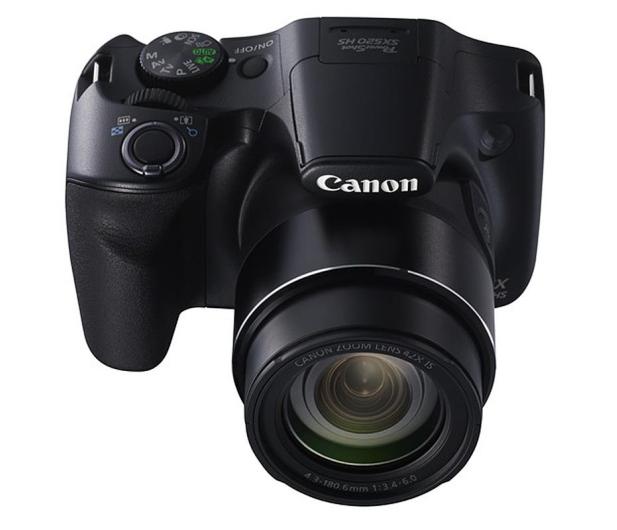 Canon PowerShot SX520 HS Czarny   - 204380 - zdjęcie 4