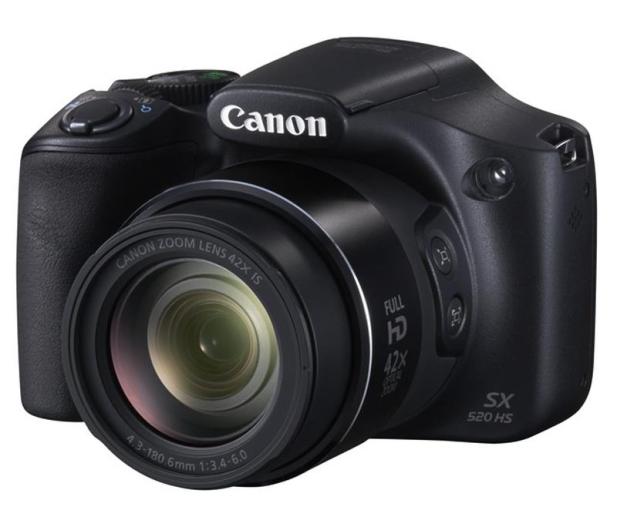 Canon PowerShot SX520 HS Czarny   - 204380 - zdjęcie 10