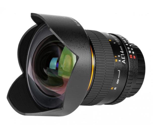 Samyang 14mm F2,8 ED AS IF UMC AE Nikon - 205113 - zdjęcie