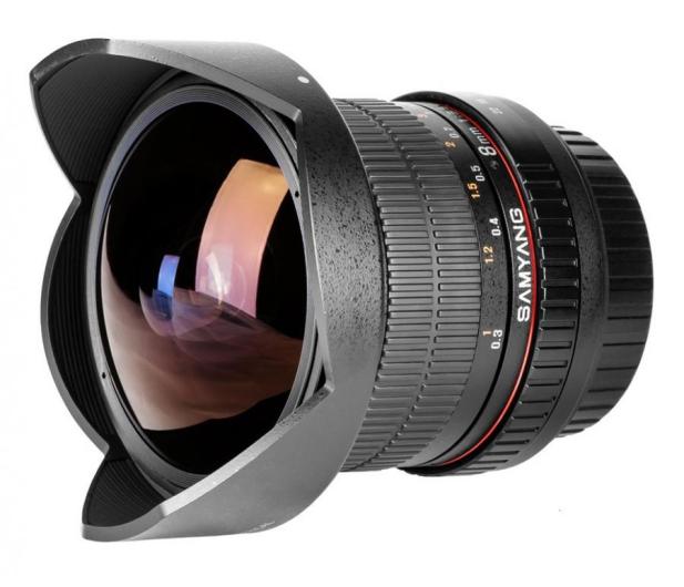 Samyang 8mm F3,5 Canon - 205114 - zdjęcie