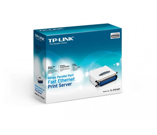 TP-Link TL-PS110P (1xLPT/36 pin, 1xRJ-45) - 200764 - zdjęcie 4