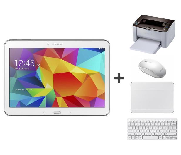 Samsung Galaxy Tab 4 T530 + drukarka WiFi M2022W + zestaw - 208418 - zdjęcie