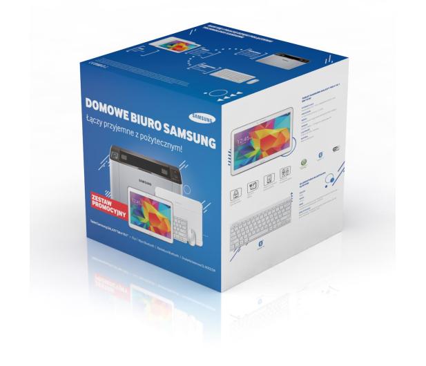 Samsung Galaxy Tab 4 T530 + drukarka WiFi M2022W + zestaw - 208418 - zdjęcie 2