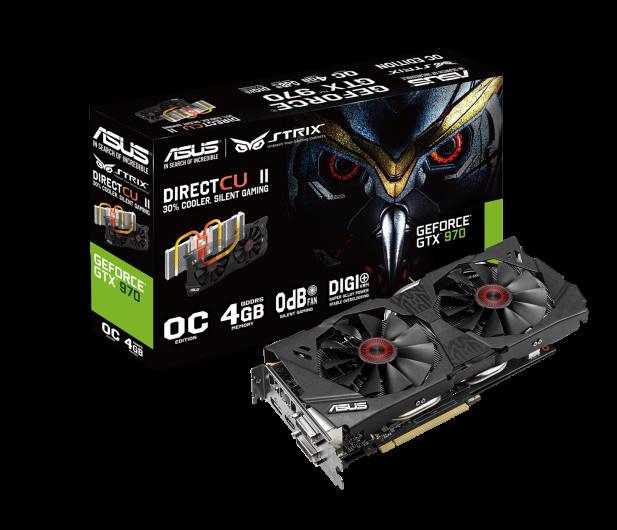 ASUS GeForce GTX 970 4096MB 256bit DirectCu II Strix OC - 208786 - zdjęcie