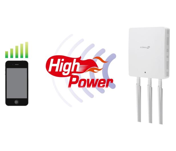 Edimax WAP1750 (802.11a/b/g/n/ac 1750Mb/s) DualBand PoE - 207188 - zdjęcie 7