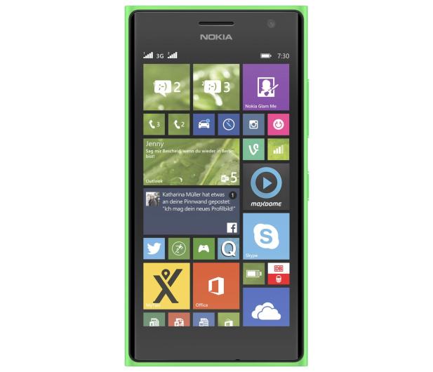 Nokia Lumia 730 Dual SIM zielony - 209160 - zdjęcie