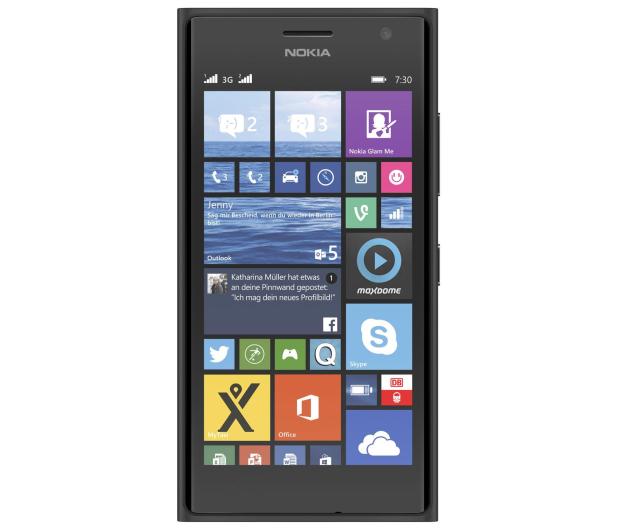 Nokia Lumia 730 Dual SIM szary - 209158 - zdjęcie