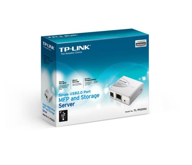 TP-Link TL-PS310U MFP (1xUSB, 1xRJ-45) - 169525 - zdjęcie 3