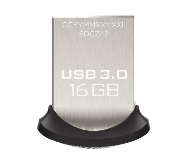 SanDisk 16GB Ultra Fit (USB 3.0) 130MB/s  - 206697 - zdjęcie 2