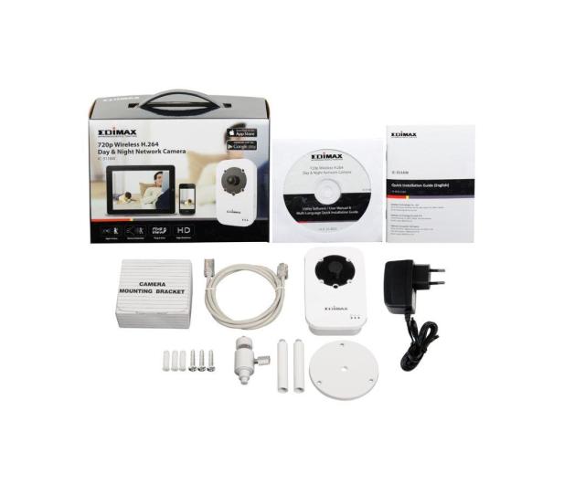 Edimax IC-3116W WiFi HD 720p LED IR (dzień/noc) - 207577 - zdjęcie 6