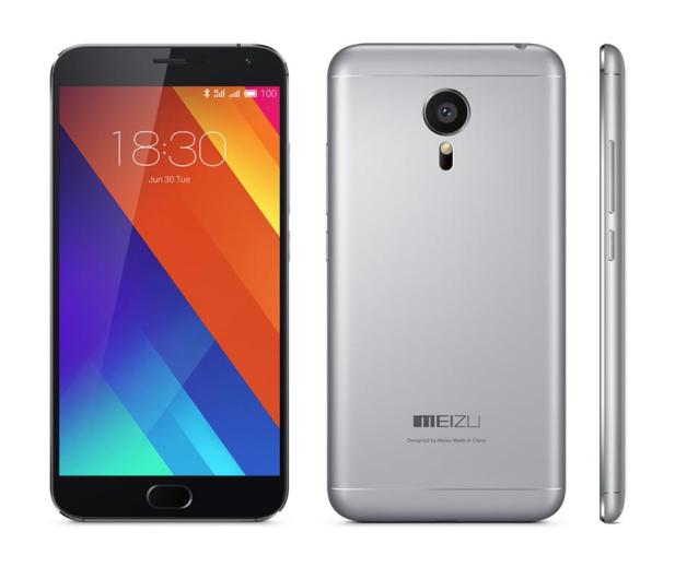 Meizu MX5 16GB Dual SIM LTE szary - 261581 - zdjęcie