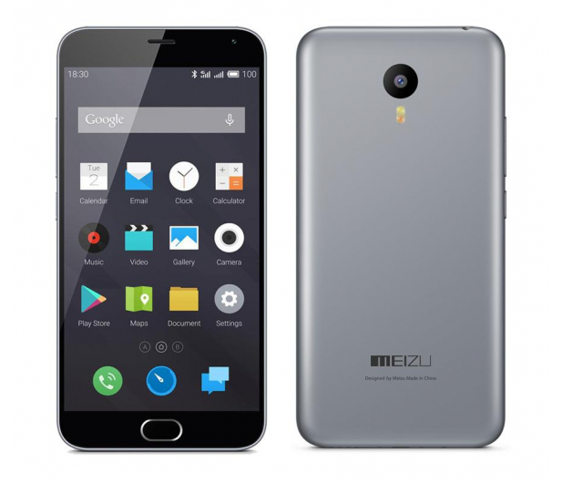 Meizu M2 Note 16GB Dual SIM LTE szary - 261584 - zdjęcie