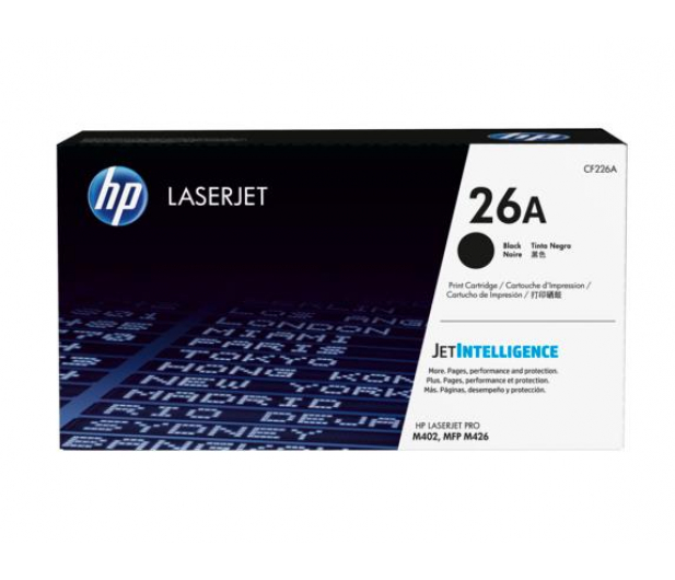 HP 26A black 3100str. - 260875 - zdjęcie