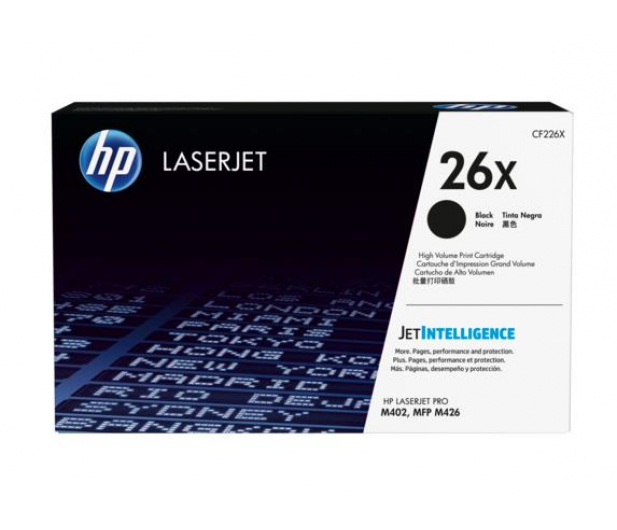 HP 26X black 9000str. - 260876 - zdjęcie