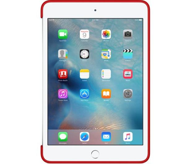 0f751d9de4332e Apple iPad mini 4 Silicone Case czerwony - Etui na tablety - Sklep ...