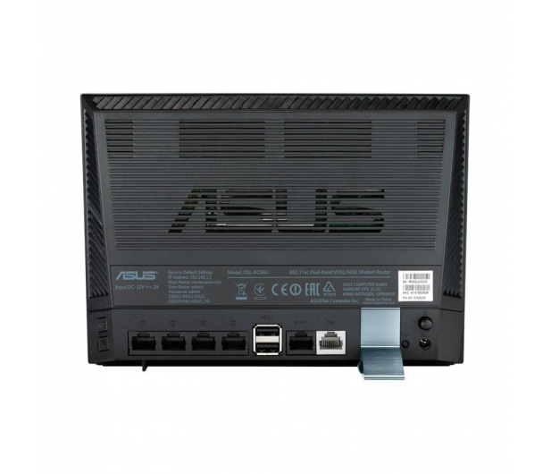 ASUS DSL-AC56U (1200Mb/s a/b/g/n/ac Aneks A/B, 2xUSB) - 265485 - zdjęcie 4