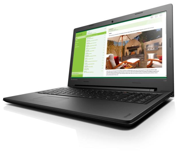 Lenovo Ideapad 100 i3-5005U/4GB/500/DVD-RW - 266380 - zdjęcie