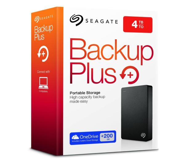 Seagate 4TB Backup Plus 2,5'' czarny  - 251534 - zdjęcie 8