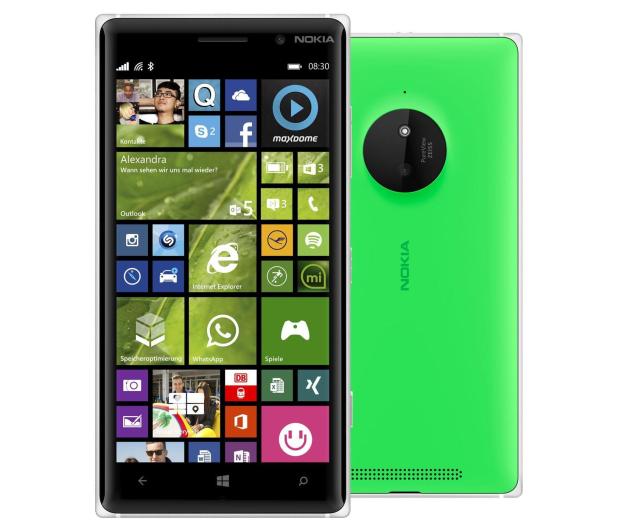 Nokia Lumia 830 zielony - 209163 - zdjęcie