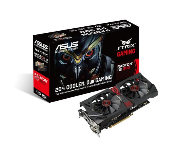 ASUS Radeon R9 380 2048MB 256bit DirectCu II Strix OC - 244752 - zdjęcie