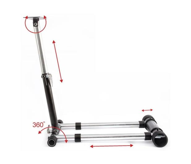 Wheel Stand Pro Stojak dla THR F458 /Spider/T80/T100/F430 V2 BLACK - 262652 - zdjęcie 4
